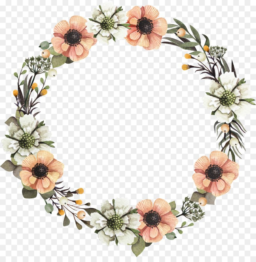 Wreath Floral Design Flower Garland A Garland Png Is About Is About Decor Flower Petal Wreath Flora Floral Vector Png Wreath Drawing Floral Border Design