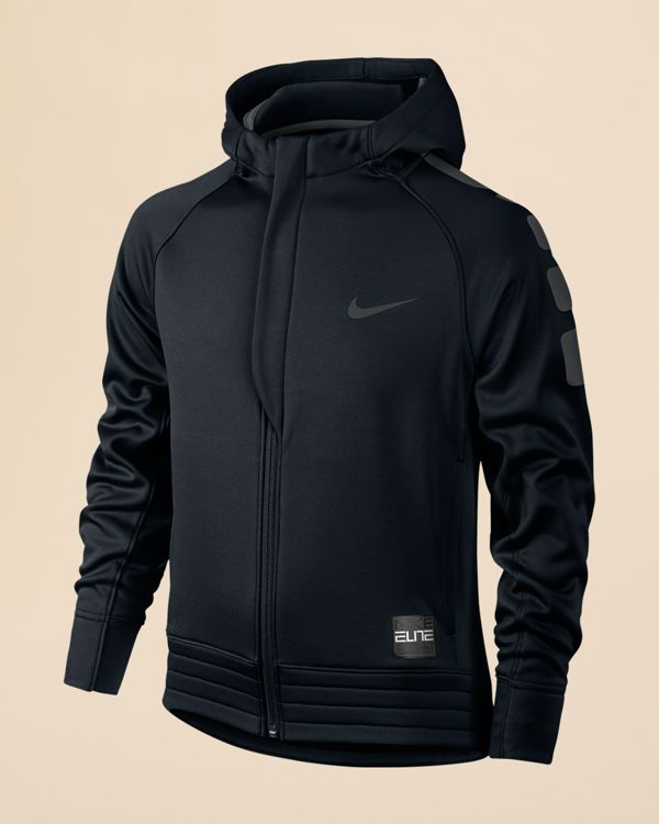 a8a9f20c Nike Boys' Elite Stripe Zip Up Basketball Hoodie - Sizes S-xl | man ...