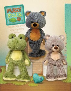 Fiesta Toy's plush Fuzzy Folk line