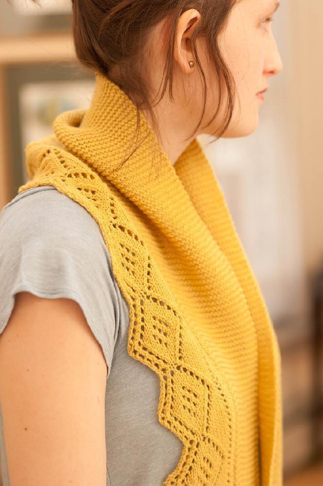 Brisha Shawl knitting pattern - $6: