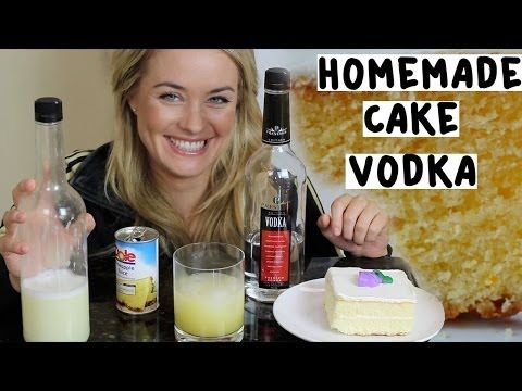 Fantastic Homemade Cake Vodka Tipsy Bartender Youtube Cake Vodka Birthday Cards Printable Trancafe Filternl