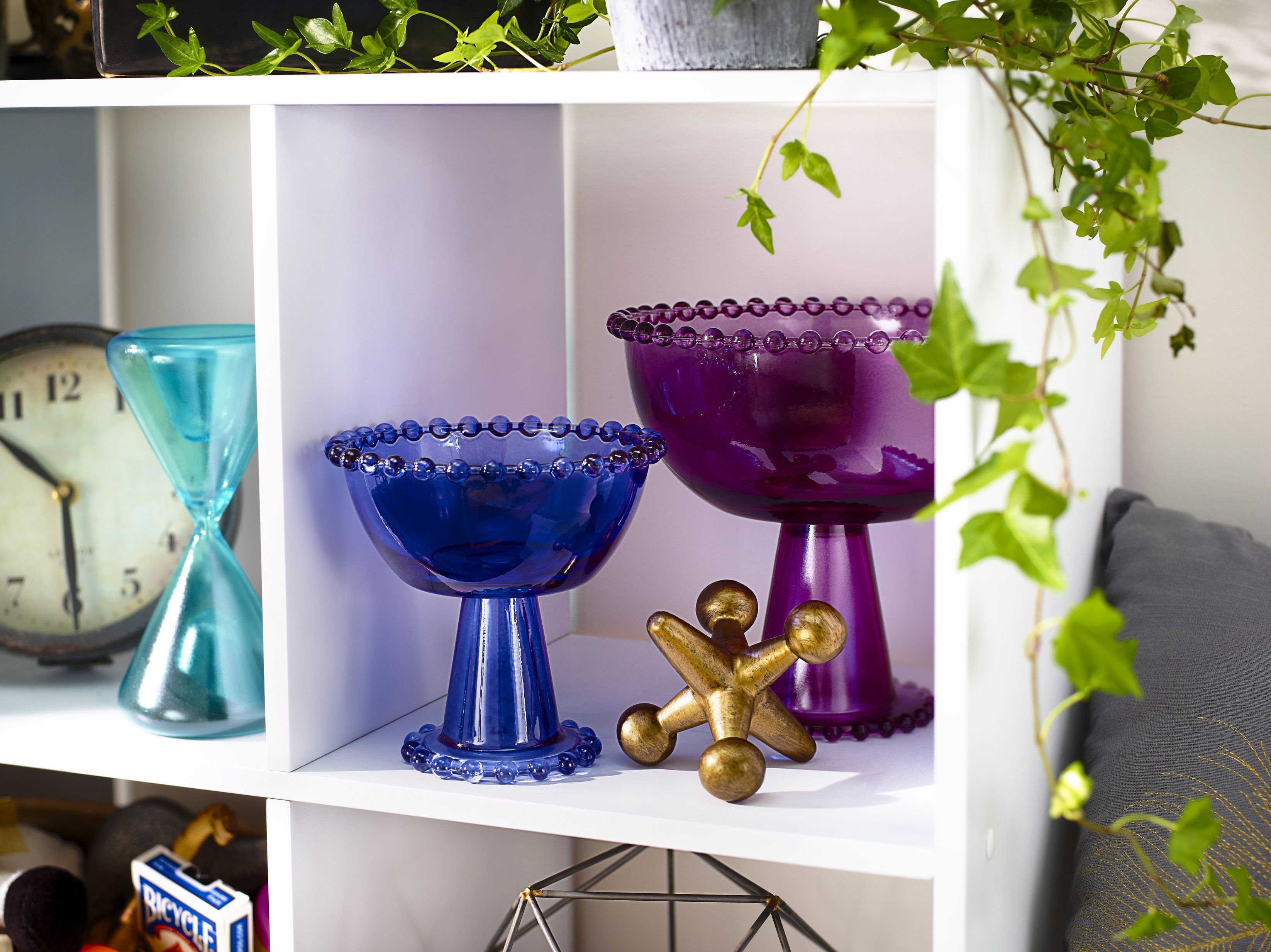 Add Pop Of Color Glassware With Krylon Stained
