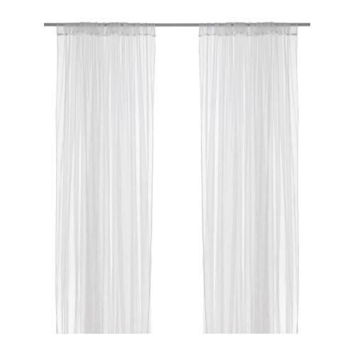 lill cortinas red par ikea los visillos permiten la entrada de luz pero protegen