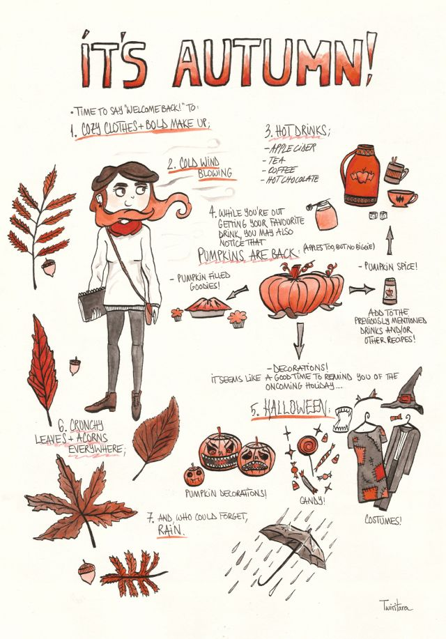 Pin von Erin Bliss auf fall ♡   Pinterest   Herbst, Aufzählungen ...