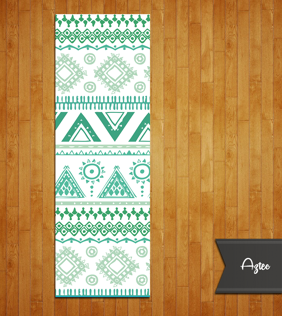 Tribal Aztec Yoga Mat. Yes you should connect with the movement of 14th  century Mayan inspiration. Check out all the rad colors. 1 4″ 6.2mm thick. c45f60cfa1ec7