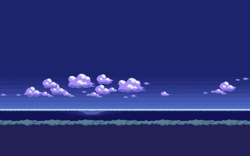 8bit Landscape Computer Wallpaper Pixel Art Background Pictures