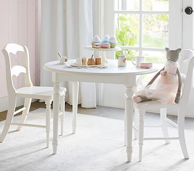 Finley Play Table, Vintage Simply White | Ave