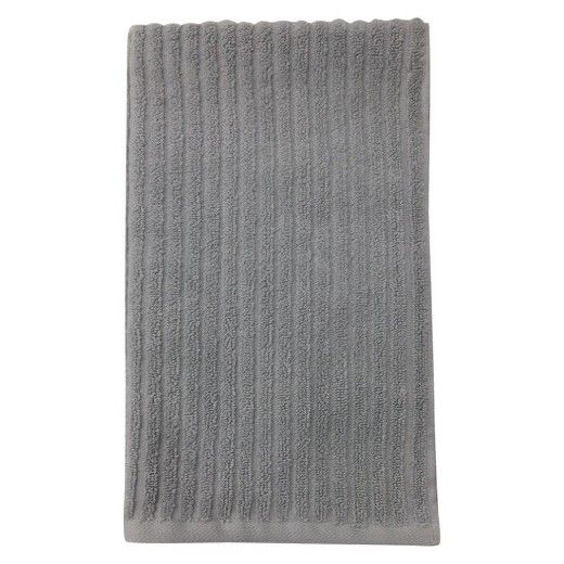 These Room Essentials Fast Textured Bath Towels Have A Classic
