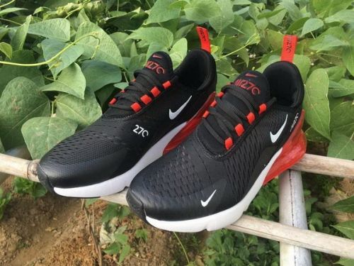 896e28a408c Best Quality Nike Air Max 270 Black Red White