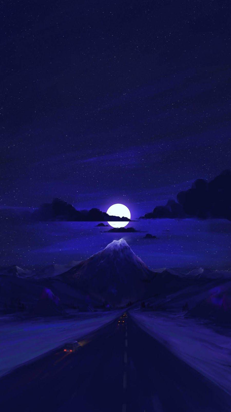 Moonlight Iphone Wallpaper Beautiful Wallpapers Cool Backgrounds