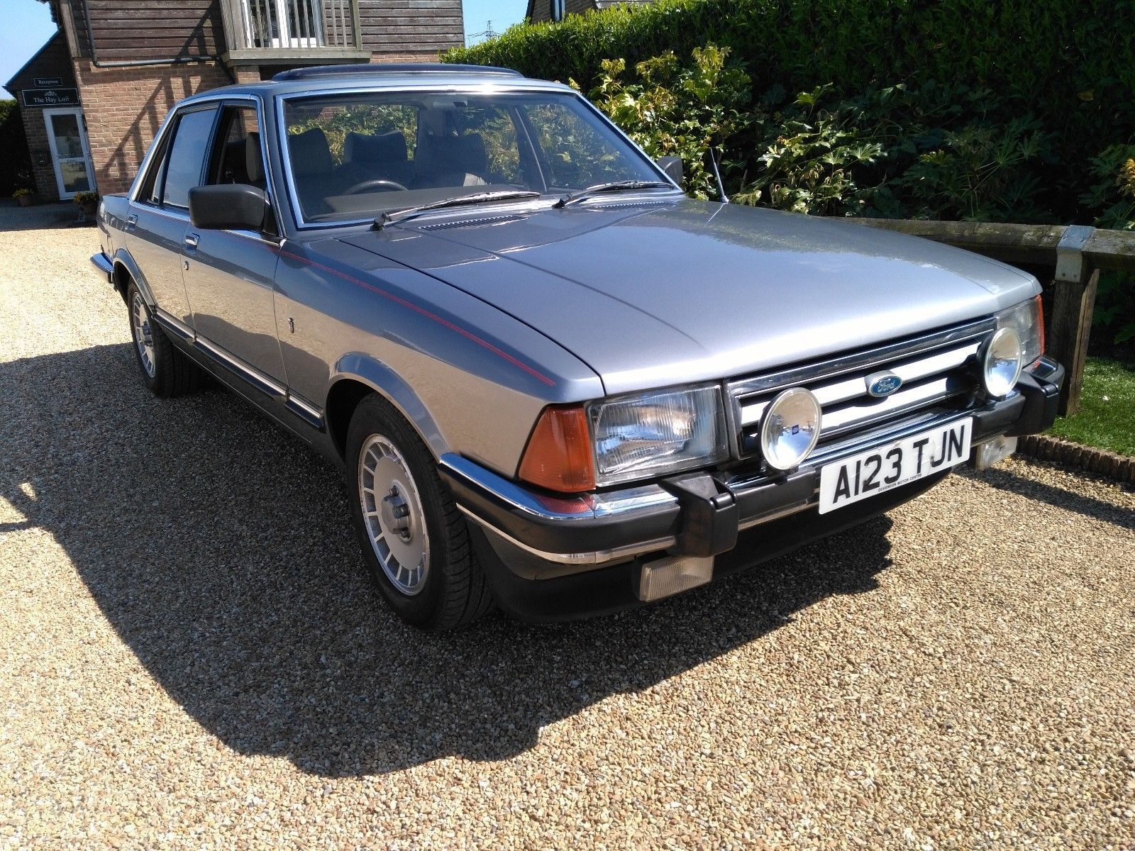 Ebay Ford Granada 2 8i Ghia X Auto 1984 Leather Mot Dry Stored No Reserve 1980s Cars Ford Granada Ford Classic Cars Ford Motor