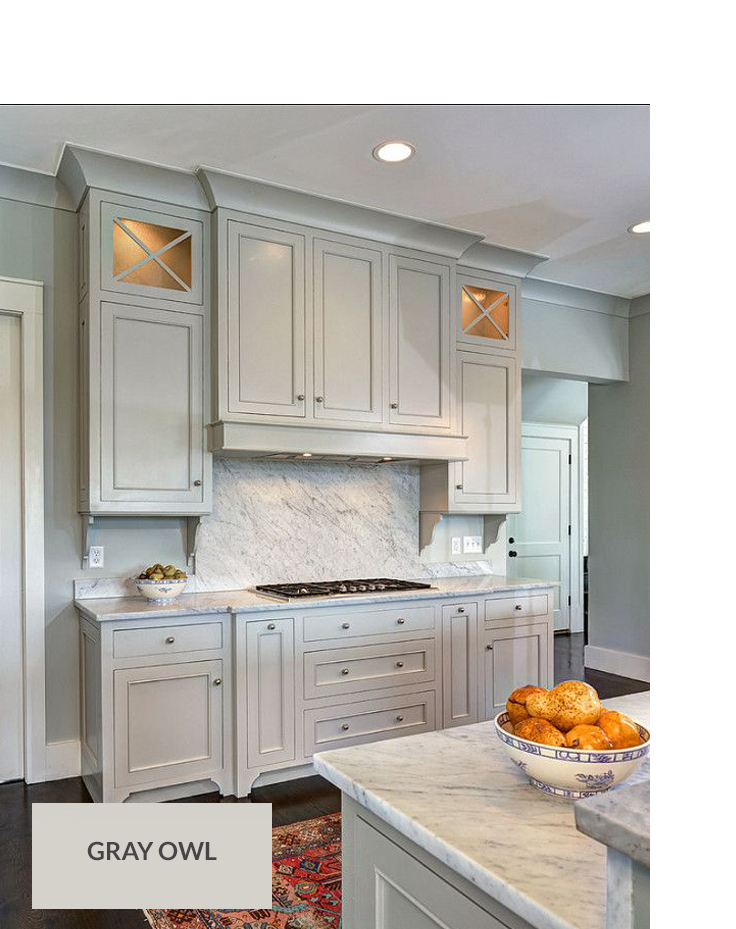 TOP 10 GRAY PAINT COLORS Painted kitchen