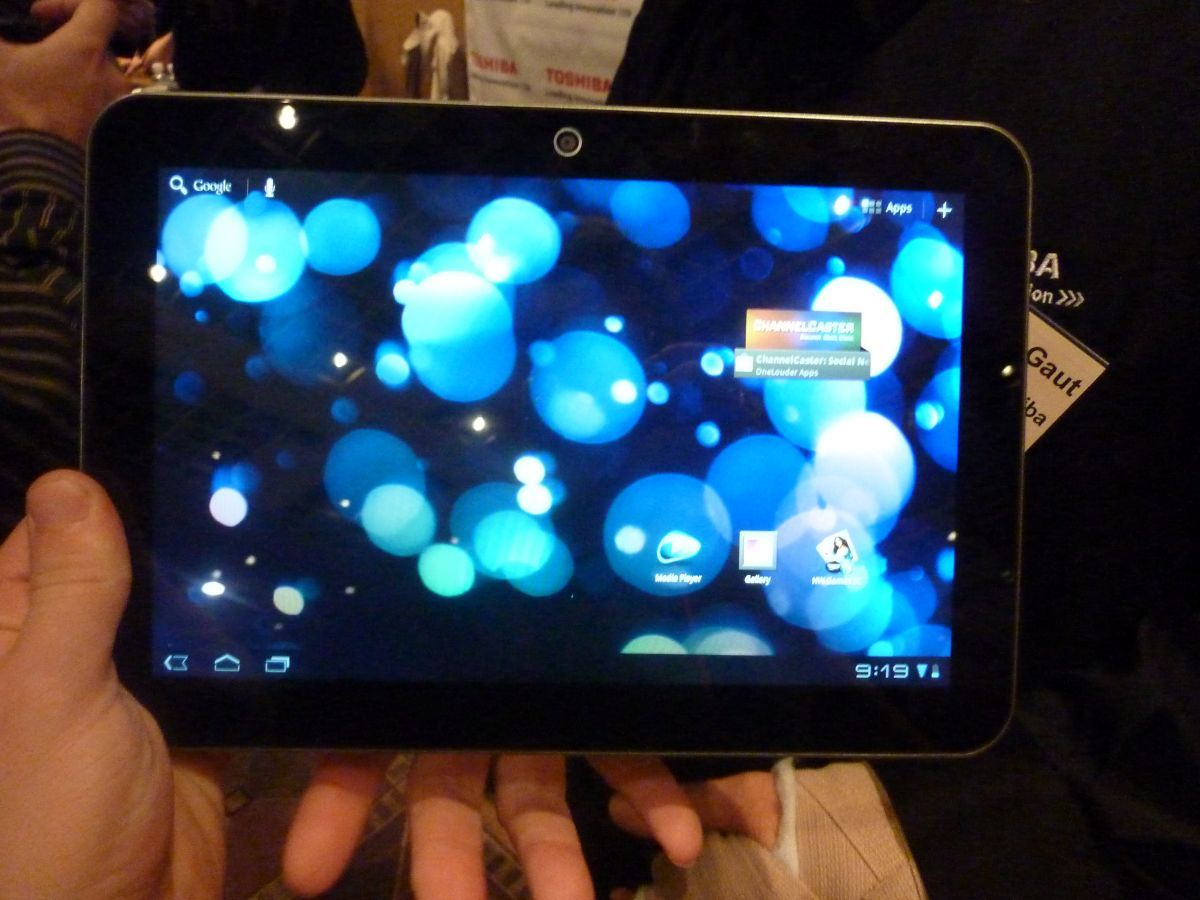 Hands on: Toshiba Excite X10 review | The Toshiba Excite X10 is billed as the thinnest, lightest tablet on the market, and they didn't make any sacrifices. Buying advice from the leading technology site