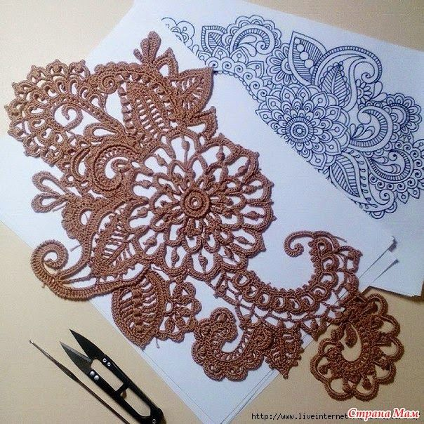 Irish crochet &: IRISH LACE. IDEAS.