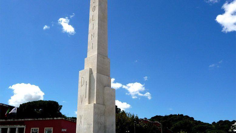 The 'Secret' Mussolini Message That Lies Underneath A 300-Ton Obelisk In Rome