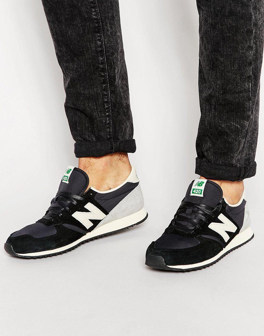 new balance 420 premium noir