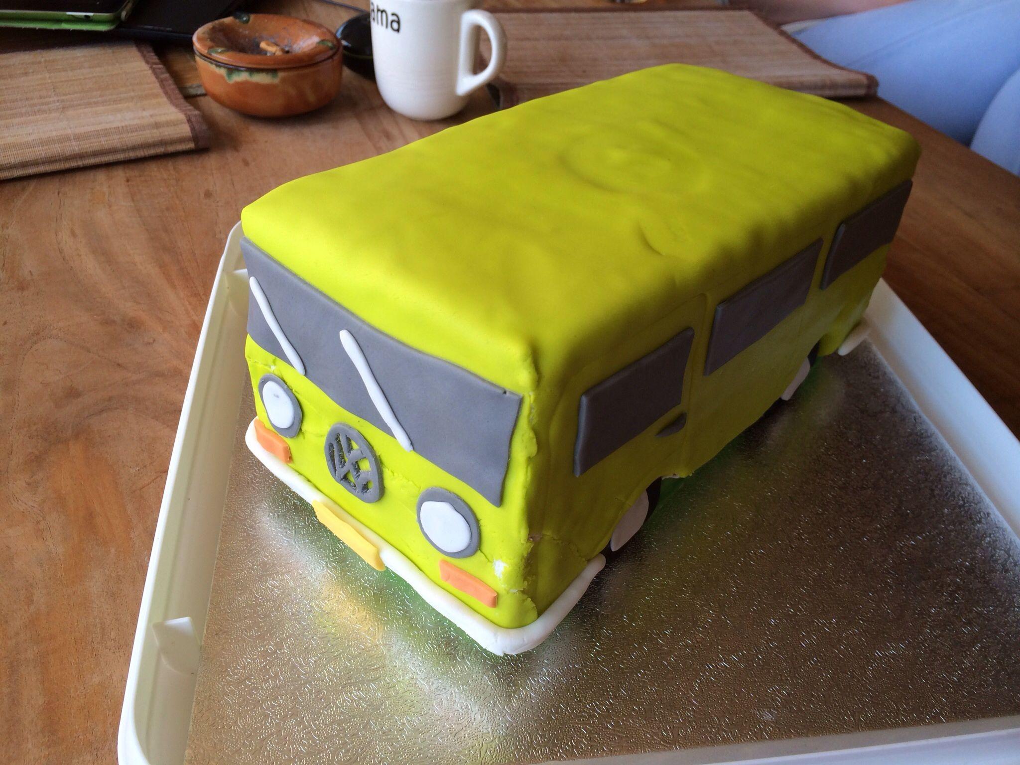 Volkswagerbus verjaardag Henk 2014