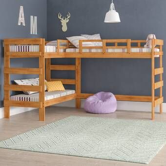 Moorcroft Twin Over Twin Over Twin Bed Triple In 2020 Diy Bunk