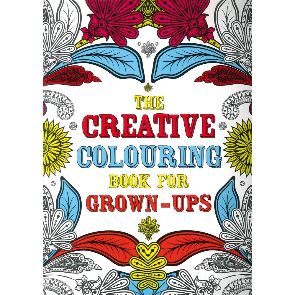 Art therapy coloring book michael omara - Fishpond New Zealand The Creative Colouring Book For Grown Ups Creative Colouring For Grown Ups By Michael O Mara Books Buy Books Online The Creative