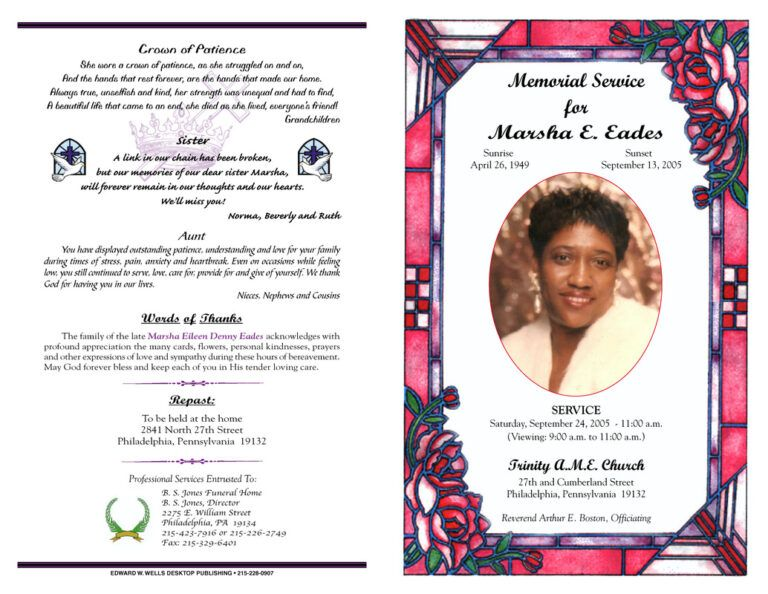 37 Obituary Templates Download Editable Professional Throughout Free Obituary Template For Microsoft Template Word Document Obituary Template Template Word