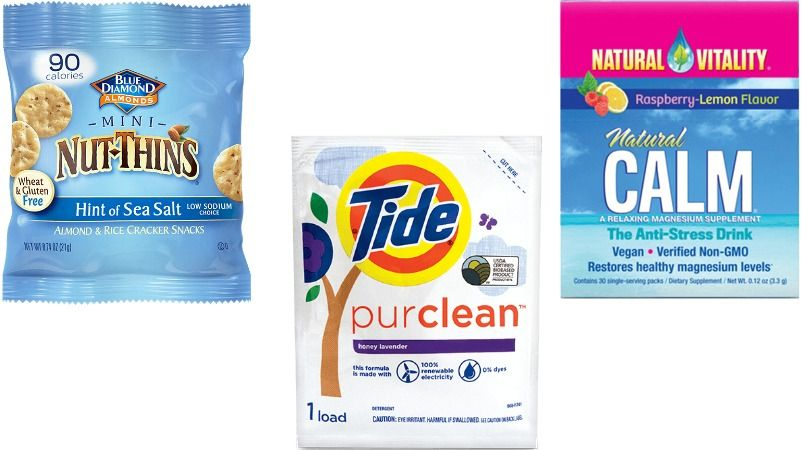 Free tide detergent nut thins and natural vitality