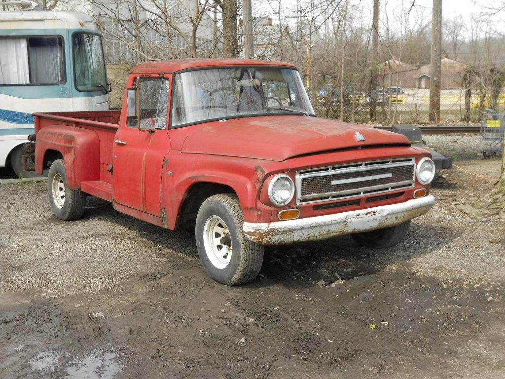 Complete barnfind 1967 International Harvester project truck ...