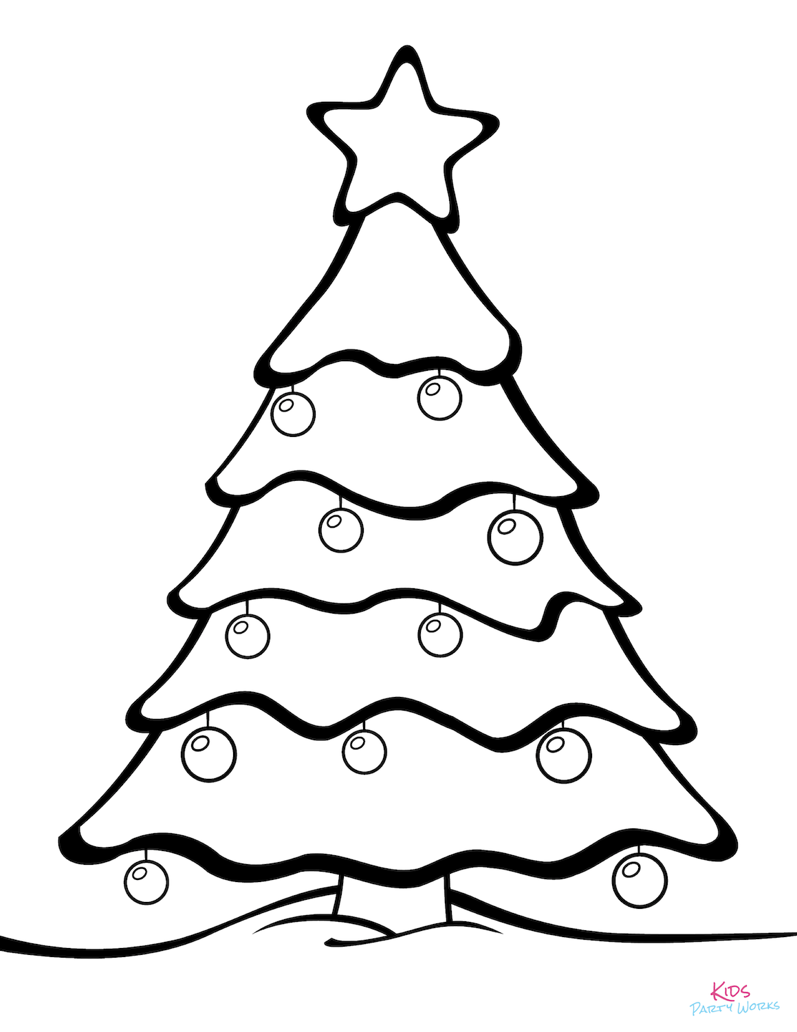Free Christmas Coloring Pages. Lots of beautiful Christmas coloring ...