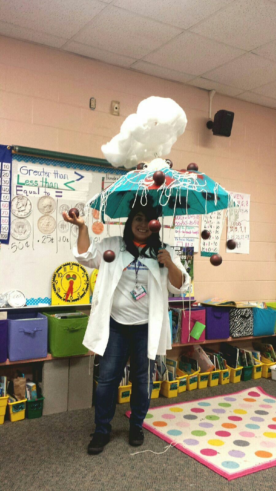School Character Parade, Cloudy with a Chance of Meatballs Costume!,teacher book character costume, book character costume #characterdayspiritweek