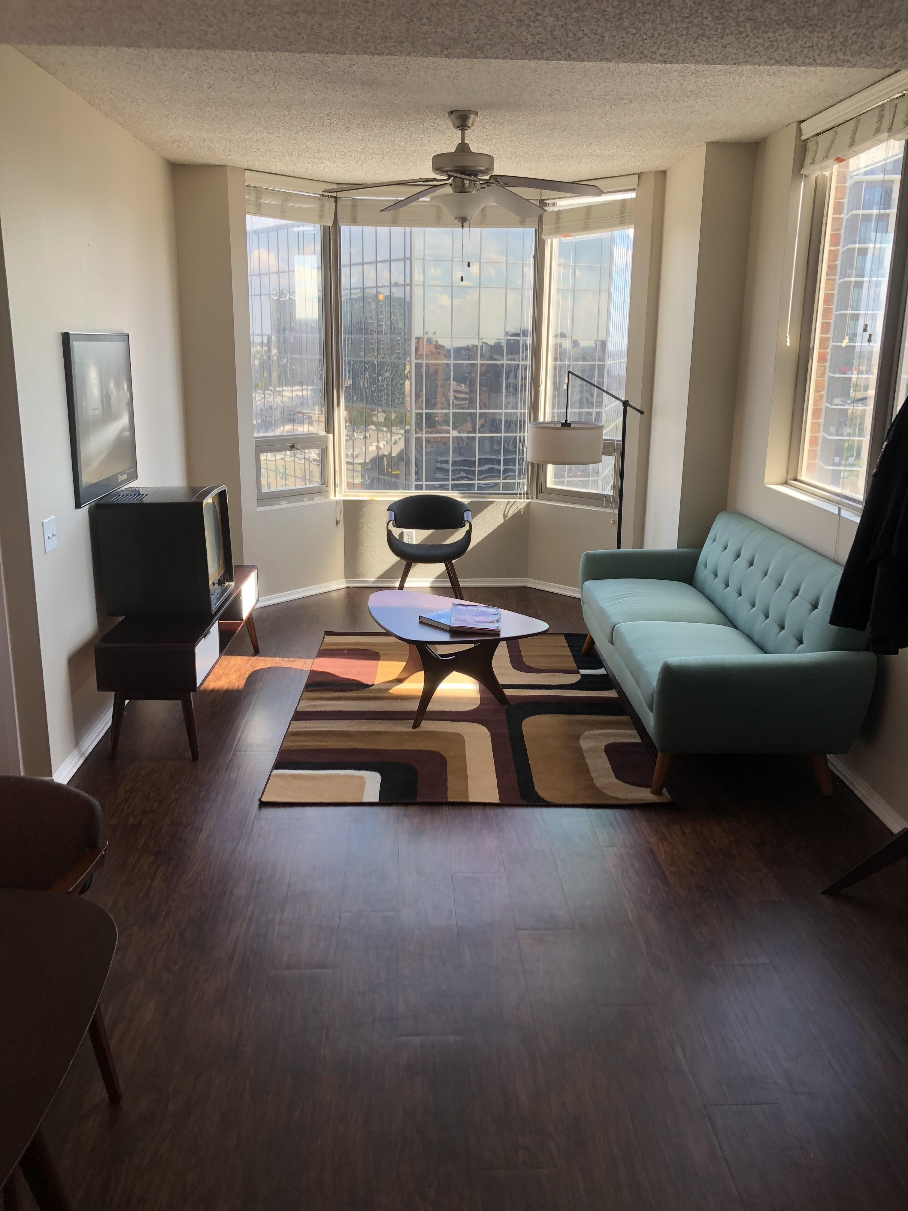 finished my mid century modern living room thanks to