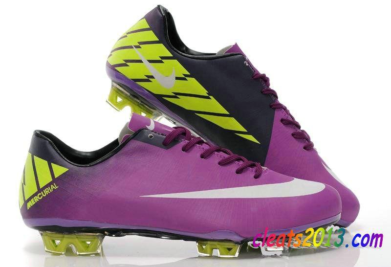 Nike Mercurial Vapor VII Superfly III TRX FG Purple Yellow White  3130108