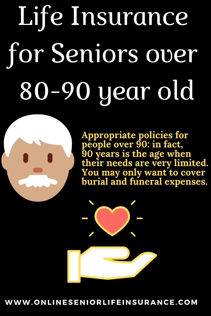 LifeInsurance for Seniors over 8090 year old Life