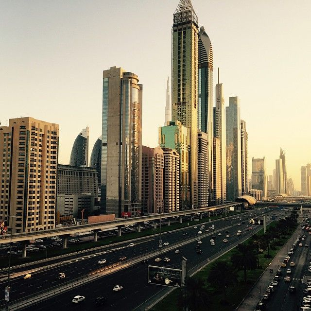 View From The Office Dubai Dealincity Dubai Skyline New York Skyline
