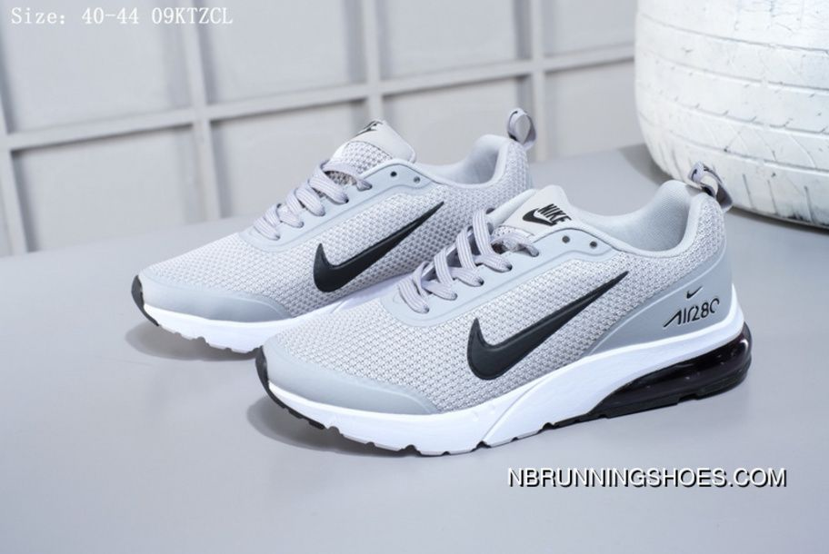 993096d67ad4 Nike Air Max 280 Half Palms Air Cushion Mens Running Shoes 02002021 Grey  Black Free Shipping