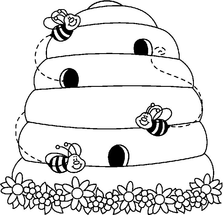 Use the form below to delete this Bee Hive Clip Art Black