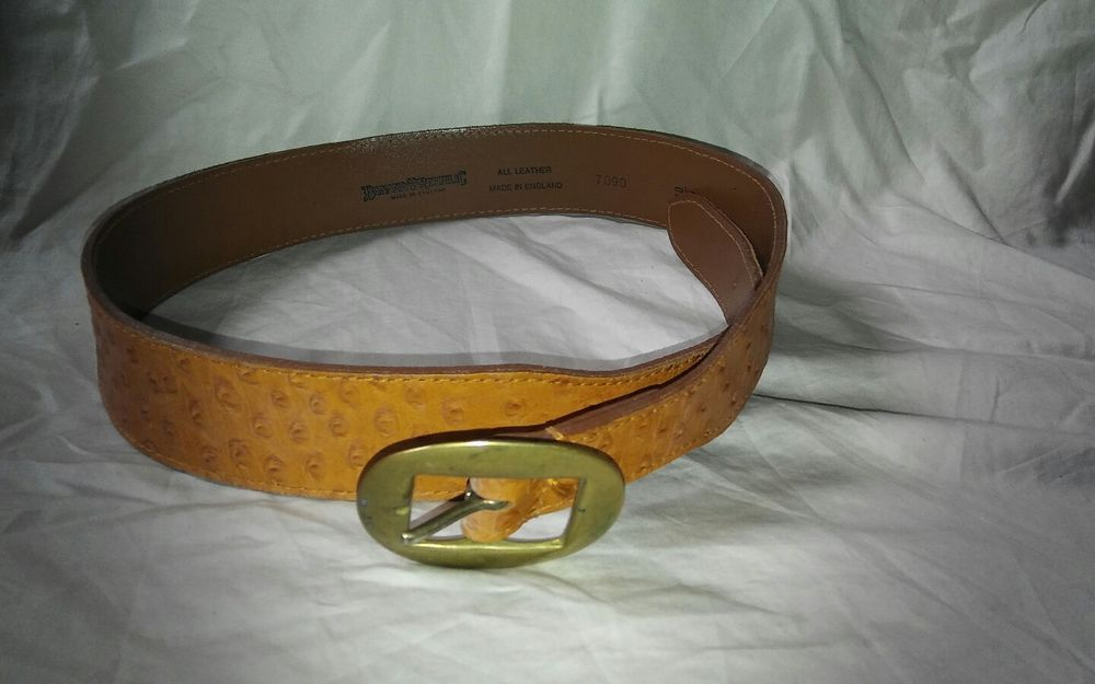 Banana Republic Made In England Brown Leather Belt Size 30 Bananarepublic Brown Leather Belt Belt Belt Size