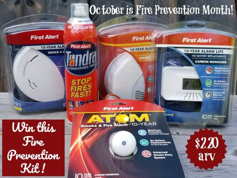 Win a Fire Prevention Prize Pack (arv 220)!