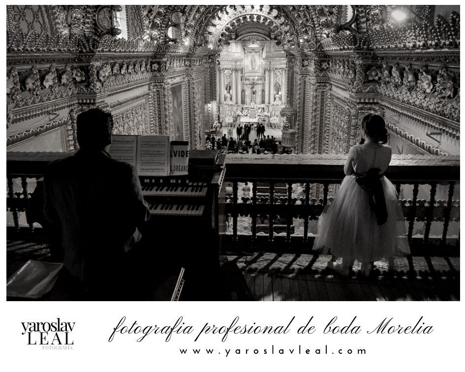 Fotógrafo Profesional De Bodas Morelia Templos Para Boda