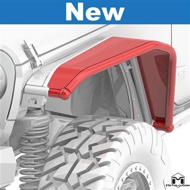 Tj Full Metalcloak Arched System 6 Fender Flares Jeep Wrangler Jk Flares