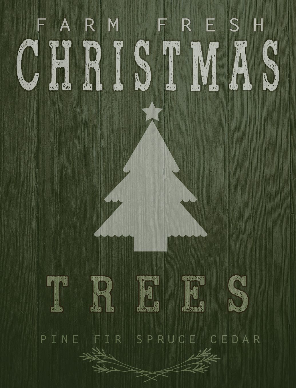 I have another Christmas pallet sign printable for you