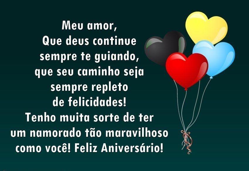 Mensagens De Feliz Aniversario Para Namorado Para Facebook
