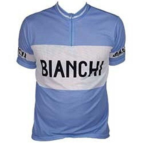 Bianchi Historic Blue  White Jersey XXLarge *** See this great product.Note:It is affiliate link to Amazon.