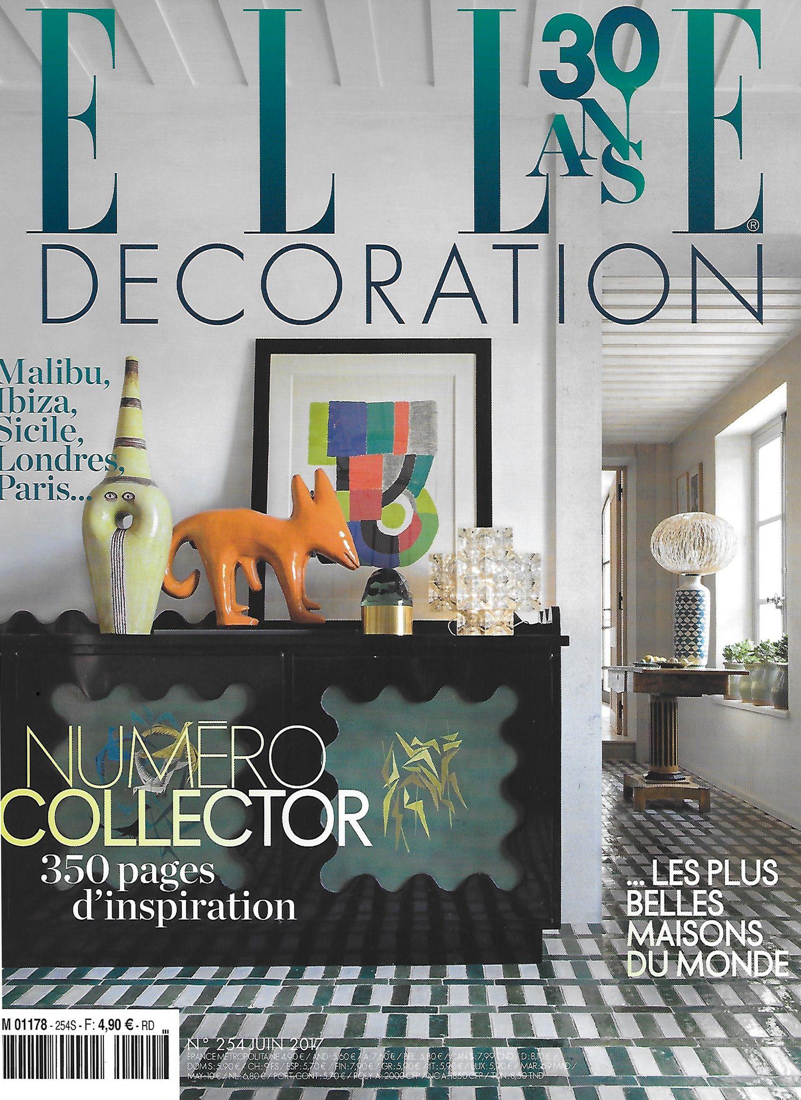 Art Et Decoration Juin 2017 Épinglé sur press
