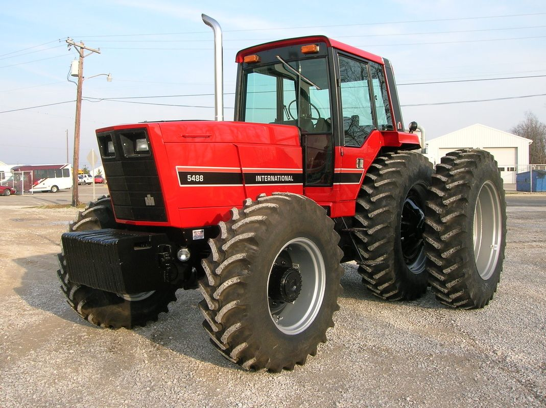 Tractors restored 88 series International Harvester ih 5488 ih 5288 ih 5088  hard to find parts - TRIPLE R TRACTORS