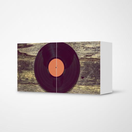 """Deine Dekofolie """"Vinyl"""" Für Das Besta Regal #ikea #besta"""