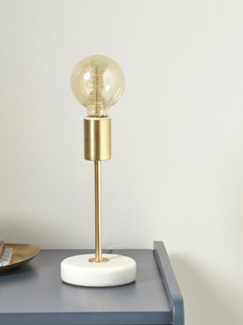 Doré Marbre Chevet Lampe Cyrilluslampe De Et KJu5l1cTF3