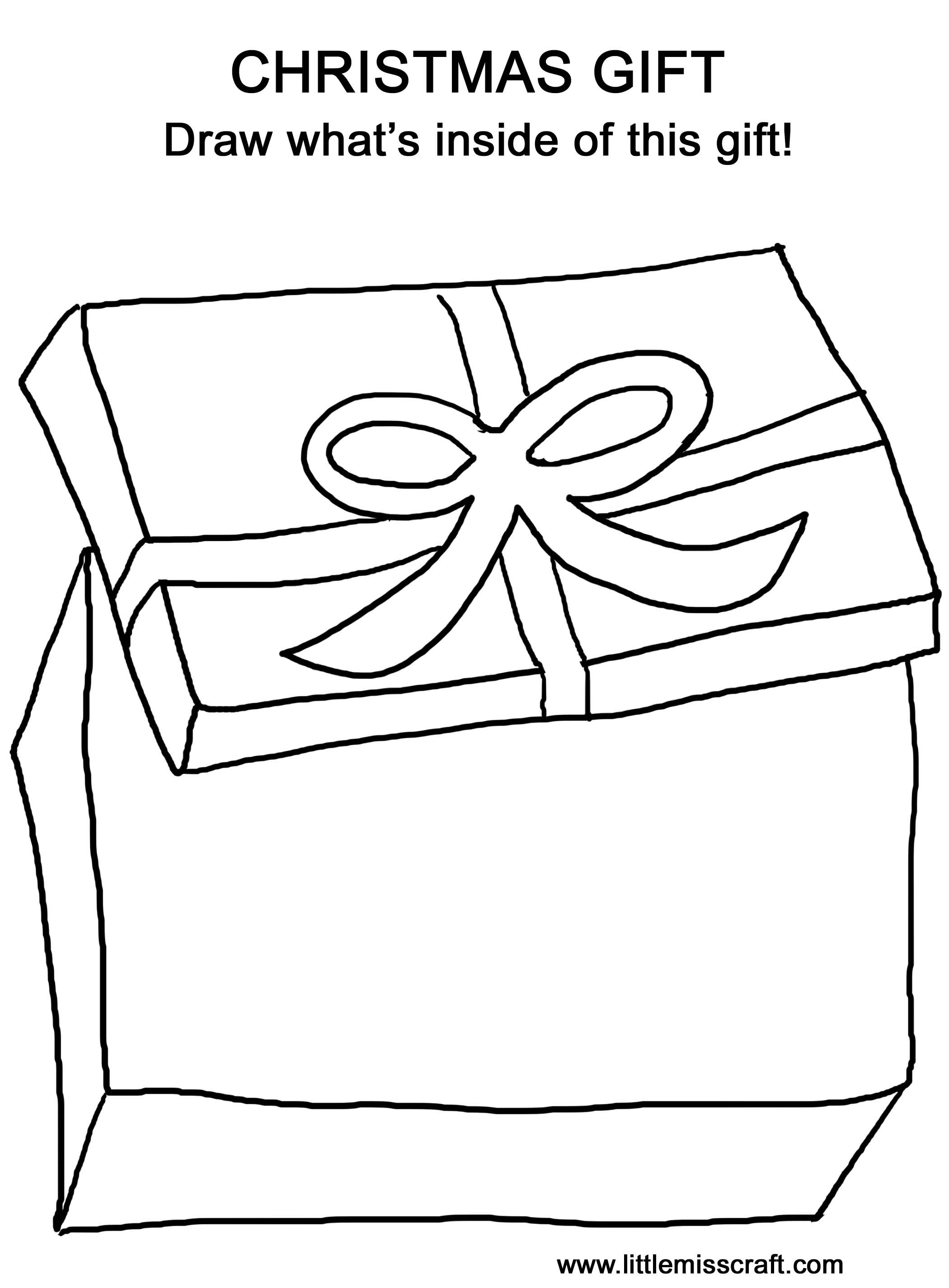 Coloring Pages Christmas Gift Coloring Page 1000 images about coloring page on pinterest easy things to draw and christmas gifts