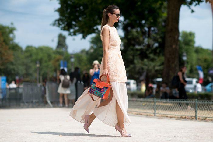 Οι street style εμφανίσεις που τράβηξαν όλα τα βλέμματα στο Παρίσι | μοδα , street style | ELLE