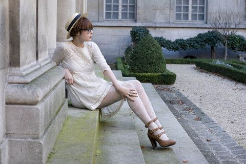 Musée Carnavalet. (by Louise Ebel) http://lookbook.nu/look/564465-Mus-e-Carnavalet