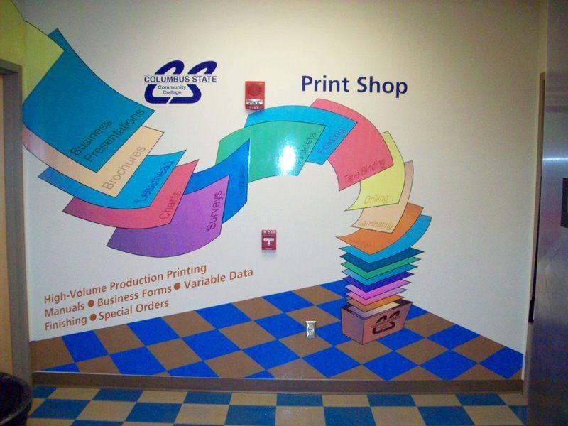 Digital Printed Wall Graphics