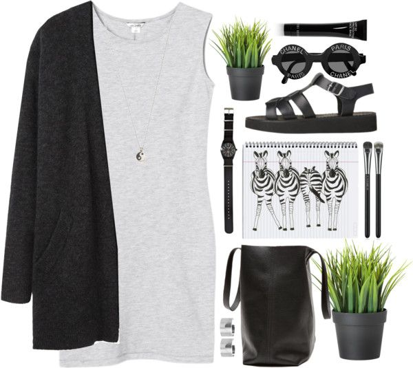 ZEBRA by emily-nevell featuring faux plants